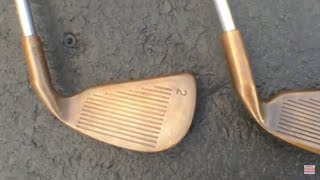 I Sold A Sęt Of 40-Year Old Golf Clubs for $500   Resale Deep Dive   BeCu Beryllium Copper Irons