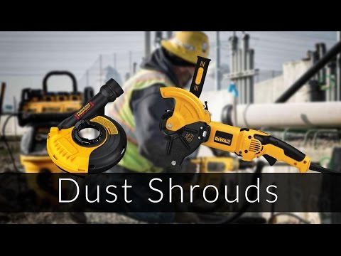 DeWalt Cut Off Tool Dust Shrouds
