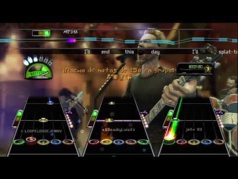 Guitar Hero Metallica  The Day That Never Comes Full Band Expert