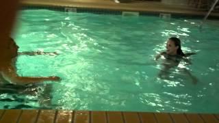 Repeat youtube video Wierd couple in pool skinny dip