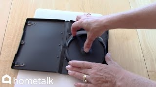 How To Upcycle DVD Cases | Hometalk