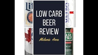 For your KETO Diet We tried 5 different Low Carb Beers