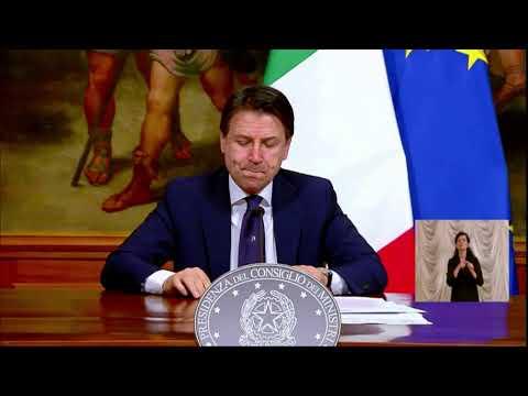 Coronavirus 'Fase 2', la conferenza del presidente Giuseppe Conte