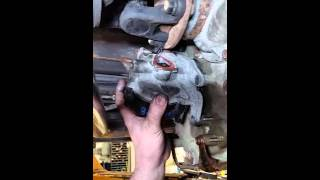 Toyota Tundra transfer case motor replacement  in under 10 minutes