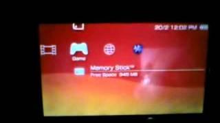 PSP 3004, psp go hack 6.35 without pandora 2011 Fully hacked