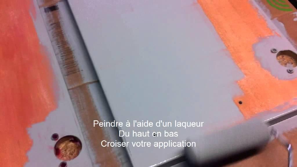 Peindre meuble de cuisine youtube for Meuble de cuisine