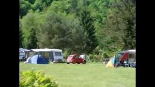 Camping Schloß Langenau bei Obernhof a.d. Lahn