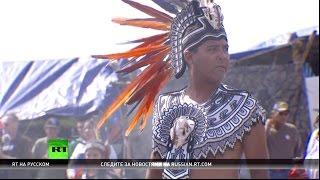 В США более 200 индейских племен объявили войну нефтяному гиганту