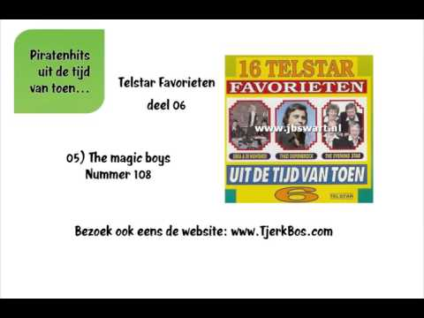 The magic boys - Nummer 108 (Oude Piratenhits).