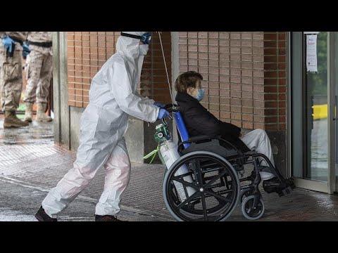 Coronavirus en Espagne: plus de 15 400 morts au 10 avril