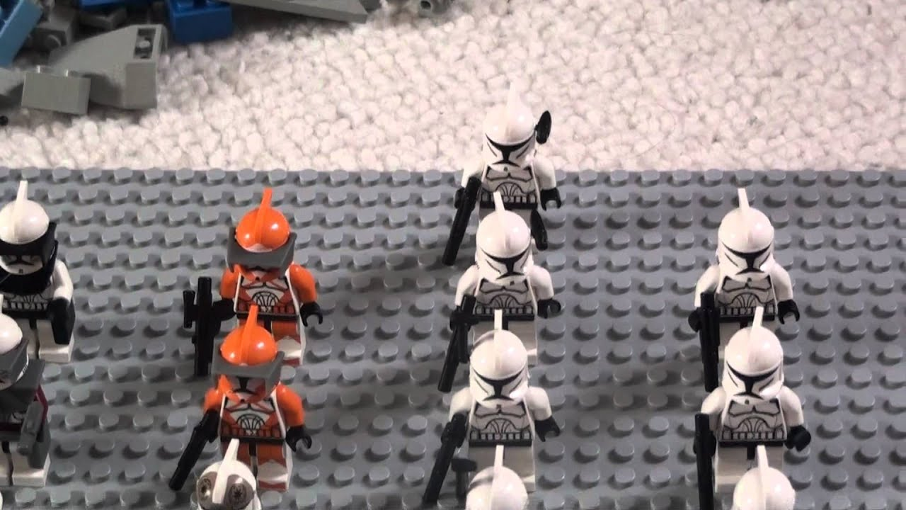Moja Kolekcja Klonów Lego Star Wars The Clone Wars Youtube