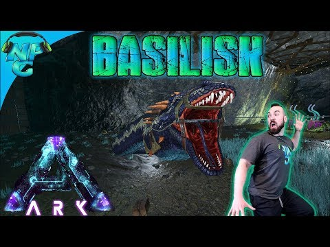 ARK Aberration Taming A Basilisk ✨before Rock Drakes And Discovering The Ravager Trick! S1E15