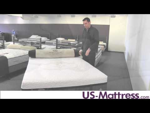Stearns & Foster Lux Estate Hybrid Mount Clare Luxury Cushion Firm Mattress