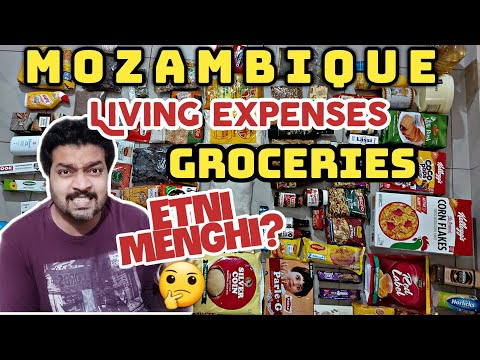 Maputo Mozambique groceries Price FULL DETAIL Indian groceries Price in capital of Mozambique Maputo