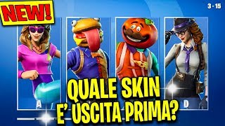 What SKIN is FIRST in the shop? FORTNITE CHALLENGE ITA