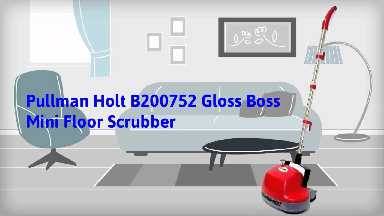 Easy To Use Gloss Boss Mini Floor Buffer   YouTube