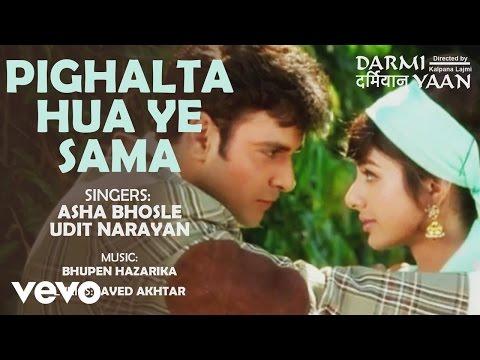 Pighalta Hua Ye Sama - Darmiyaan   Asha Bhosle   Udit Narayan  Official Audio Song