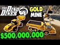 Building $500,000,000 GOLD MINE with DINO DINER Crew | Rappack Farms #76 | Farming Simulator 17
