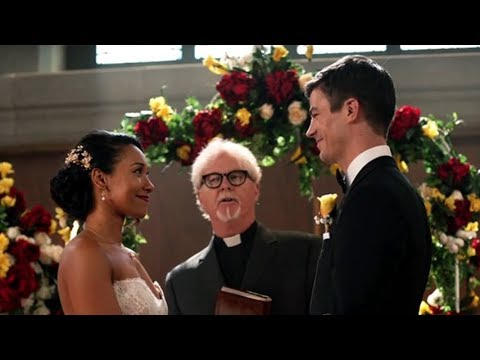 Supergirl | Crisis on Earth-X | Barry and Iris's Wedding | The CW