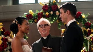 Download Video Supergirl | Crisis on Earth-X | Barry and Iris's Wedding | The CW MP3 3GP MP4