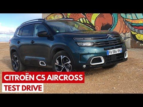 Citroen C5 Aircross: test drive in anteprima