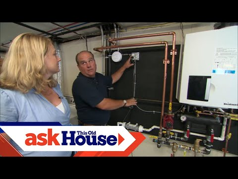 How to Install a Combination Boiler/Water Heater - YouTube