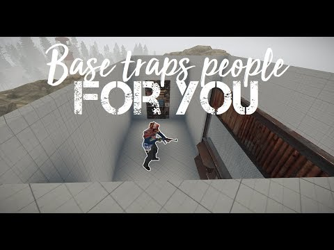 RUST: Electric base traps people alive for you thumbnail