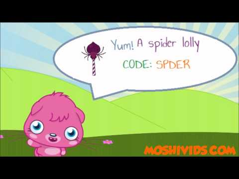 Moshi Monsters Codes For Food