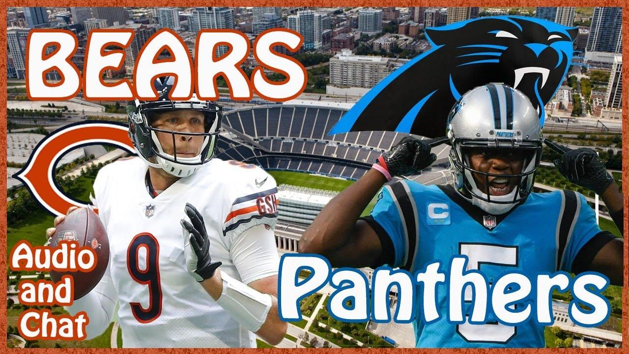 Chicago Bears At Carolina Panthers Youtube