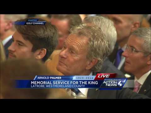 Arnold Palmer Memorial Serivce (Part 4)