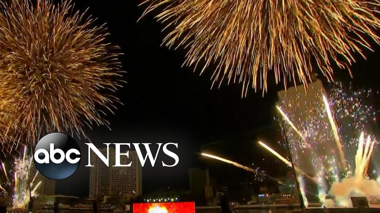 Bangkok rings in 2021 with massive fireworks display l ABC News
