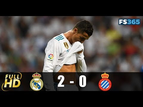 Real Madrid vs Espanyol 2-0 Highlights & Goals - 01 October 2017