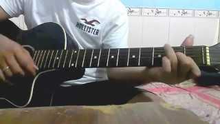 Chỉ vì anh quá yêu em Guitar