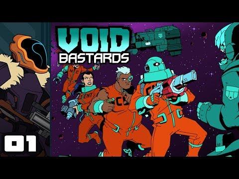 Letu0027s Play Void Bastards - PC Gameplay Part 1 - Indentured Interstellar Scavenging!