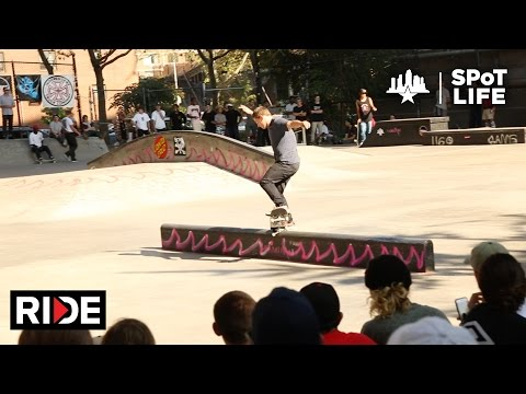 2016 Damn Am NYC: Finals and Best Trick – Zach Saraceno, Zion Wright, Dashawn Jordan – SPoT Life