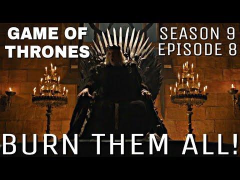 Download Game of Thrones Season 9 Episode 8 - Burn Them All (Full Episode)