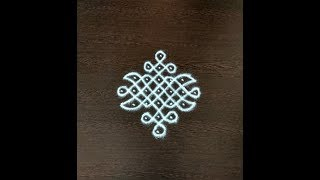 7 PULLI KOLAM/Sikku kolam designs with dots/Melika muggulu for beginners/Rangoli designs with dots