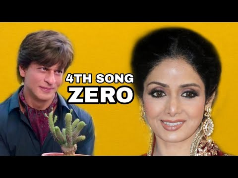 Shah Rukh Khan Wants To Keep Sridevi Song Under The Wraps Till Zero Release?