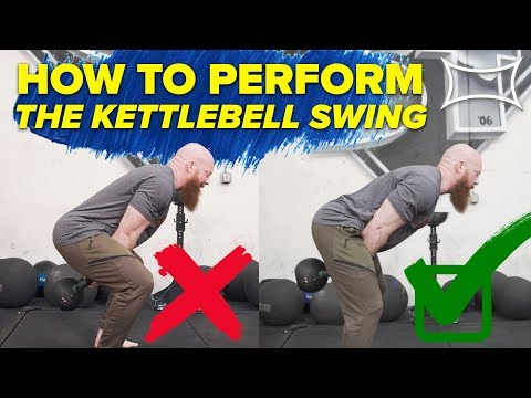 How to do KETTLEBELL SWING (Use Your Hips!) Ft. Cory Schlesinger