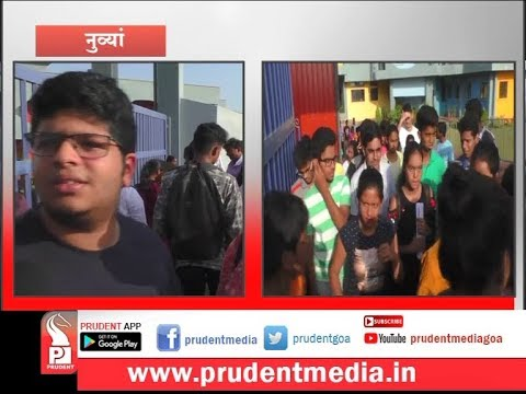 STUDENTS APPEAR FOR NEET 2019 EXAMS_Prudent Media Goa