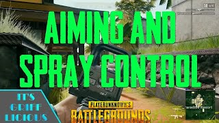 Aiming & Recoil Control/Optics | Why You Suck At PUBG Ep. 3
