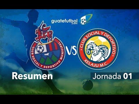 Municipal 0-1 Xelajú MC - Jornada 1 - Apertura 2017