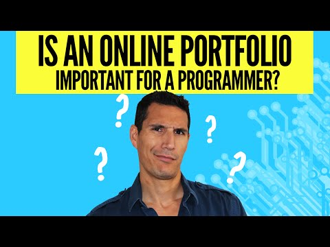 Is An Online Portfolio Important For A Programmer?
