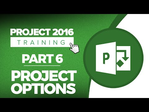 project-2016-for-beginners-part-6:-overview-of-project-options-in-microsoft-project-2016