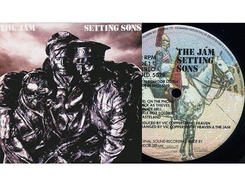 The Jam - Private Hell (On screen lyrics/Video)