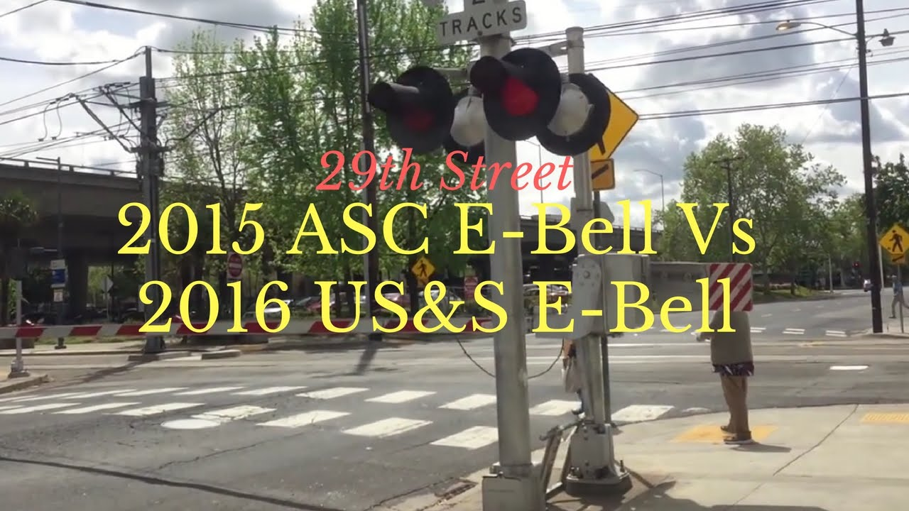 29th Street Railroad Crossing 2015 ASC E-Bell VS 2016 US&S E-Bell