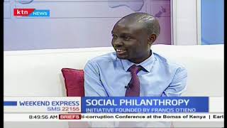 Social philanthropy is an initiative founded by Francis Otieno