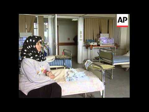 IRAQ: BAGHDAD: SADDAM'S CHILDREN'S HOSPITAL IN NEED OF FOOD & MEDICINE