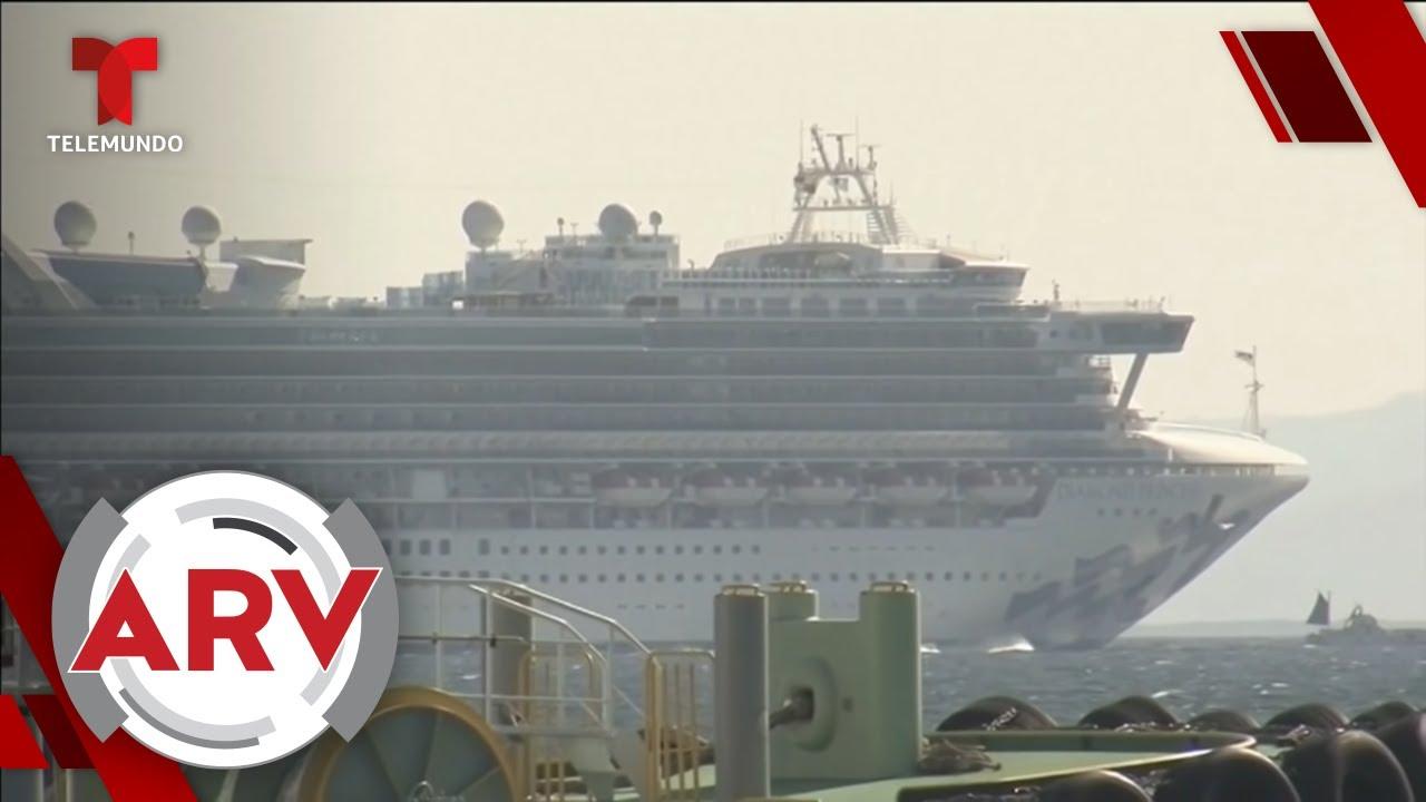Coronavirus: Pasajeros de crucero narran cómo viven la cuarentena | Al Rojo Vivo | Telemundo