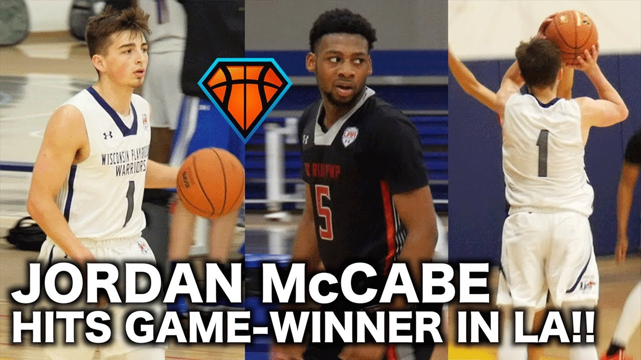 4b817249346 Jordan McCabe Drops 30 & a Game-Winner in BACK & FORTH Matchup with  Keyshawn Embery at UAA LA!!